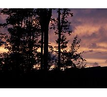 Early September Dusk Photographic Print