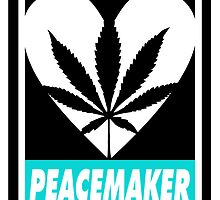 Budding Hearts - Peacemaker, Inverted Text by alexcaughtfire
