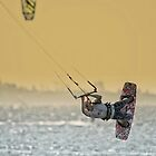 Kite Surfer  by Lanny Edey