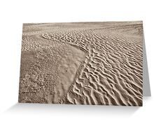 wilsons promontory sands 1 Greeting Card