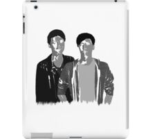 Dan & Phil   50 shades of grey iPad Case/Skin