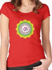 Aum 10 Women's Fitted Scoop T-Shirt