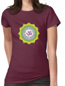 Aum 10 Womens Fitted T-Shirt