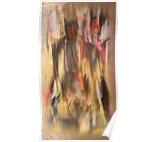 Abstract Pow wow Dancer Poster