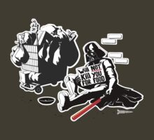 Darth Vader Will Not Kill You for Food by RichWilkie