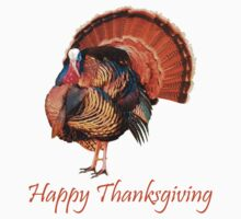 Happy Thanksgiving T-Shirts & Hoodies by mike desolunk