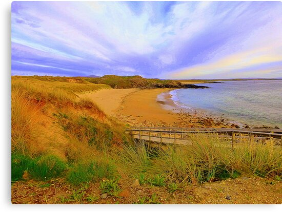 Donegal Gaeltacht Beach by Fara