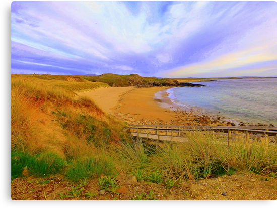 Donegal Gaeltacht Beach by Fara
