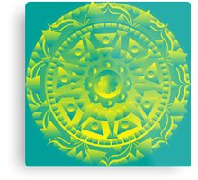 Healing Mandala for doubt Metal Print