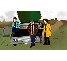 Team Free Will as Mystery Inc. Photographic Print