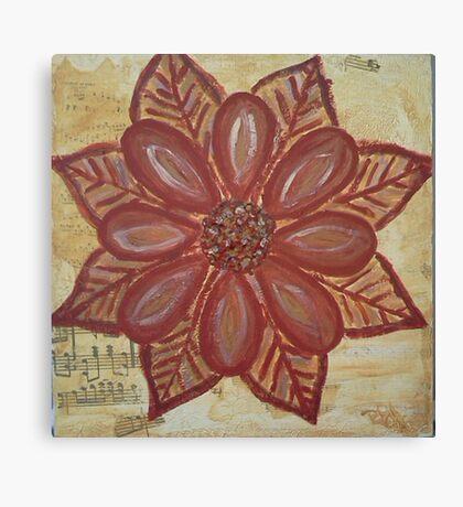 Earth Flower Canvas Print