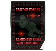 █ ♥ █ † ❤ † LEST WE FORGET-REMEMBRANCE DAY PICTURE/ CARD DEDICATION WITH ANIMATION█ ♥ █ † ❤ † Poster
