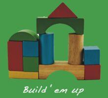 Build em up! Kids Tee