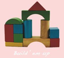 Build em up! One Piece - Short Sleeve