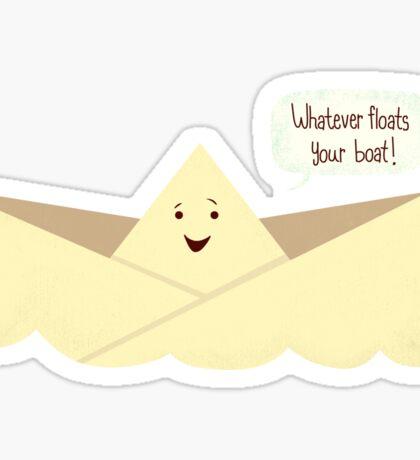 Happy Boat! Sticker