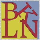 BKLN logo in Brooklyn colors by rlnielsen4