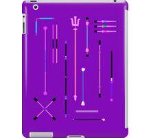 Purple Staff Mania iPad Case/Skin