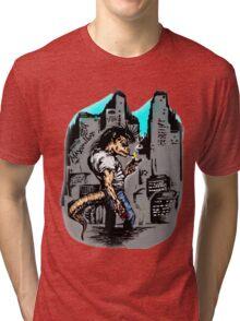 Raptor Boy Tri-blend T-Shirt