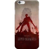 Army Of Darkness iPhone Case/Skin