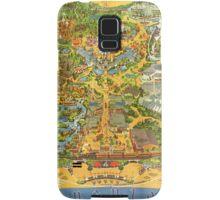 Vintage Early 1970's Disneyland Map Samsung Galaxy Case/Skin