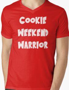 COOKIE WEEKEND WARRIOR Mens V-Neck T-Shirt