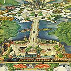 Vintage National Geographic Disneyland Map by DisneyGeek