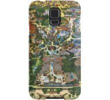 Vintage Millennium Disneyland Map Samsung Galaxy Case/Skin