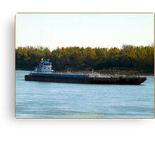 Barge (5) Canvas Print