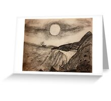 The Wind Blows This Way Greeting Card