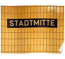 Stadtmitte Poster