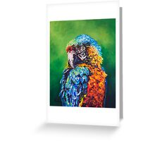 Parrot Challenge 1 Greeting Card