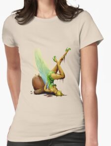 Zombie Pin-up Tinkerbell Womens Fitted T-Shirt