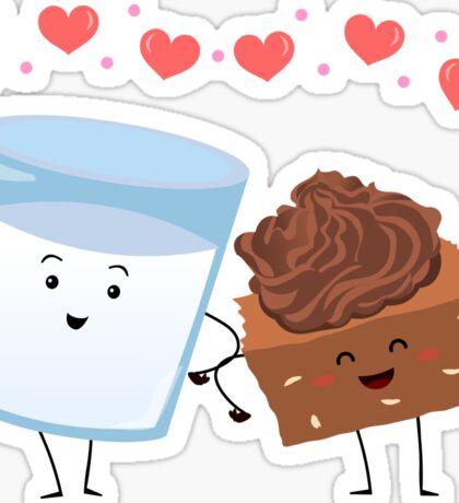 Brownie's BFF Sticker