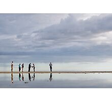 Petanque in the sky Photographic Print