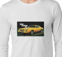 GTA Style Camaro  Long Sleeve T-Shirt