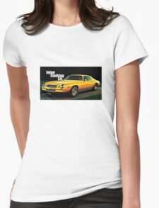 GTA Style Camaro  Womens Fitted T-Shirt