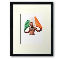 Conor McGregor UFC Fighter Framed Print