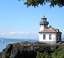 Lime Kiln Park Lighthouse by Snail-Trail