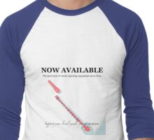 Now available Men's Baseball ¾ T-Shirt
