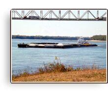 Barge (8) Canvas Print