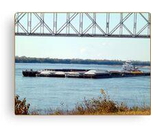 Barge(10) Canvas Print