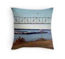 Barge (11) Throw Pillow