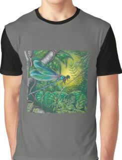"""Dragonfly Dreaming"" Graphic T-Shirt"