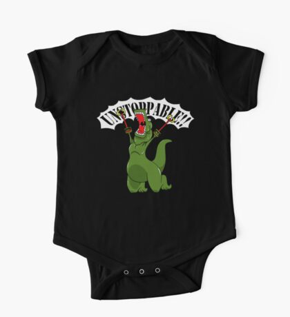 Unstoppable T-Rex One Piece - Short Sleeve