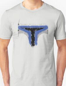 Minimalist Jango Fett Unisex T-Shirt