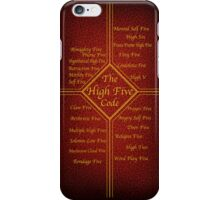 The High Five Code iPhone Case/Skin