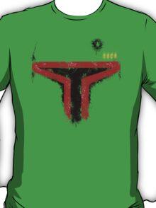 Minimalist Boba Fett T-Shirt