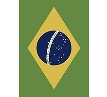 Brazil Iphone case by hooluwan