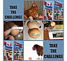take the challenge Photographic Print