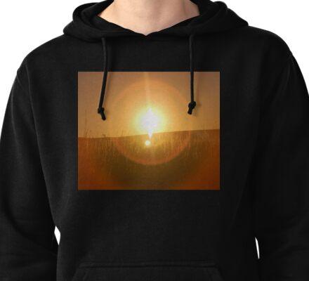 Flint Hills Sunset  Pullover Hoodie